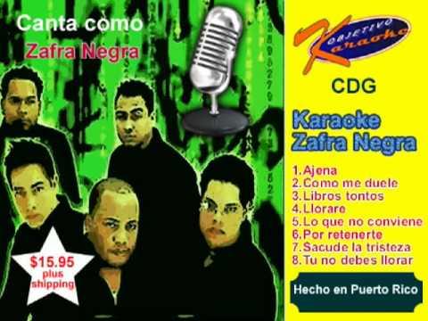 Zafra Negra Karaoke