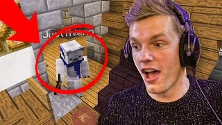 HIDE & SEEK HACK?! - Minecraft Survival #196