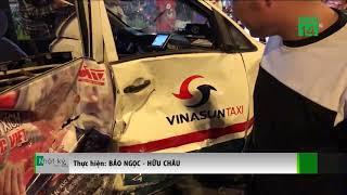 TP HCM: ô tô đâm liên hoàn nhiều xe máy trong đêm, 6 người thương vong| VTC14