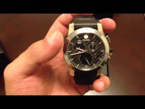 Movado Vizio Anthracite Dial Mens Watch 0606082 review / unboxing