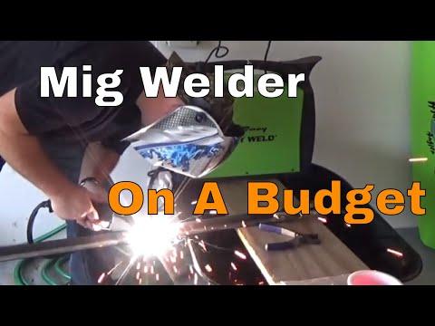 Review || Flux Core Welder, 120-Volt, 125-Amp Forney Easy Weld 299 125FC MIG Like