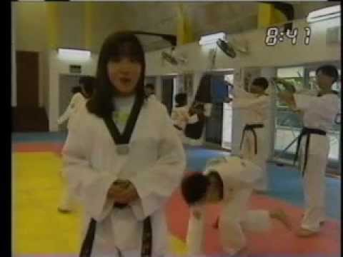 AM Singapore - Taekwondo Breaking (1996)