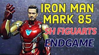 IRON MAN MK 85 ACTION FIGURE REVIEW | Avengers Endgame Sh Figuarts