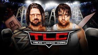 WWE TLC 2016 ORAKEL 🏟 WWE World Title TLC Match - AJ Styles vs. Dean Ambrose