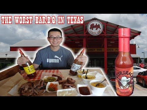Rudy's Bar-B-Q   The Worst Bar-B-Q In Texas*Clickbait*