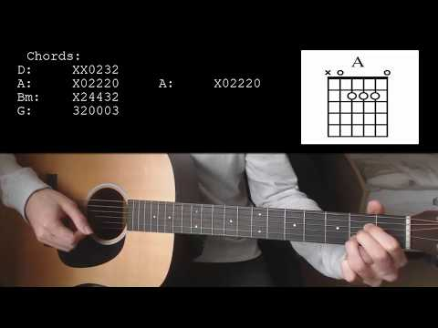 Mike Posner - Move On EASY Guitar Tutorial With Chords / Lyrics
