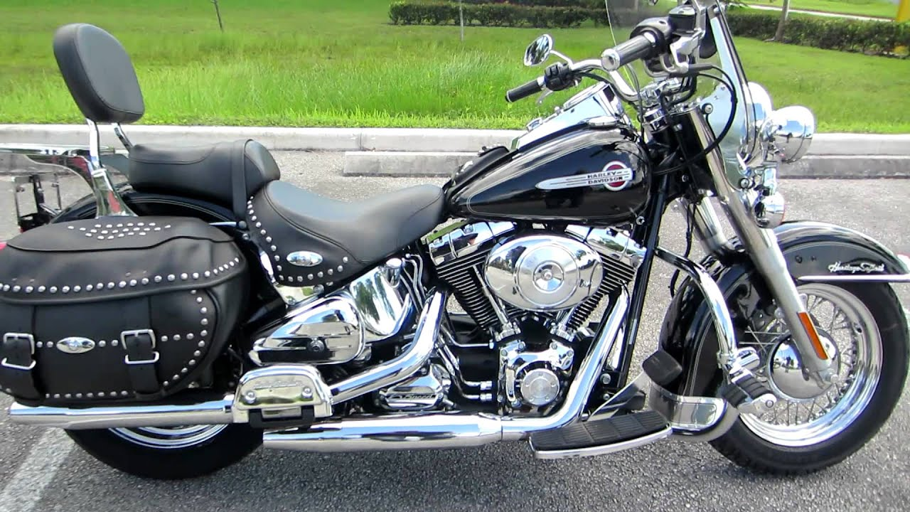 2004 softail heritage classic loaded low miles 6 speed super deal for sale ebay jake youtube. Black Bedroom Furniture Sets. Home Design Ideas