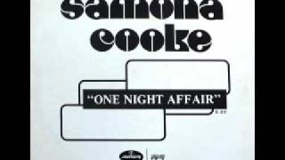 "Samona Cooke - One Night Affair (12"")"