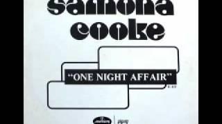 "Samona Cooke - One Night Affair (12"")"