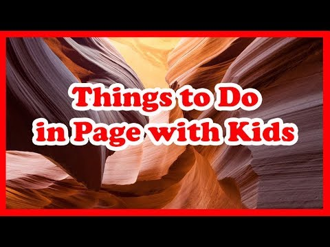 5 Things to Do in Page, Arizona with Kids | US Travel Guide