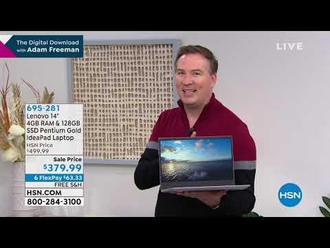 "Lenovo 14"" 4GB RAM   128GB SSD Pentium Gold IdeaPad Lapt..."