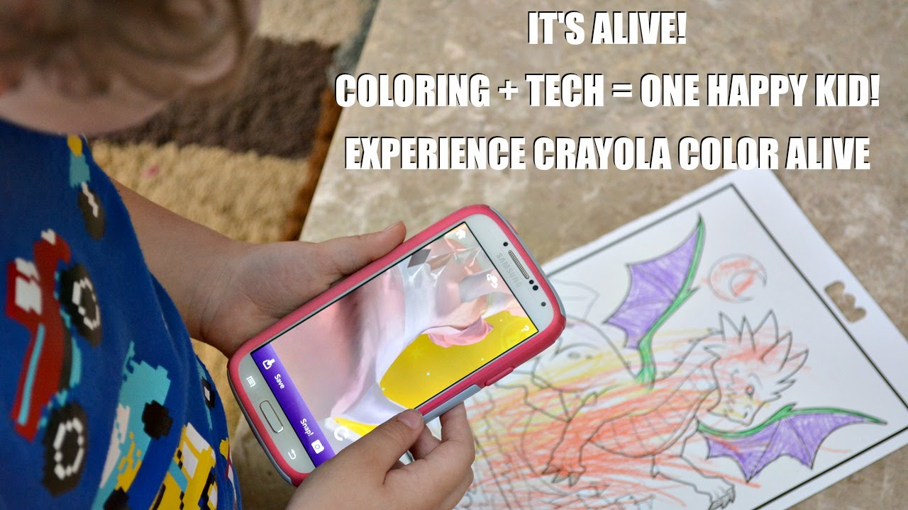 Experiencing Crayola Color Alive Skylanders Barbie Come Alive - Crayola-color-alive-barbie