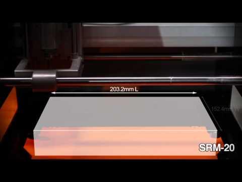 Roland DG Impresora 3D ARM-10 y Fresadora SRM-20 la pareja perfecta