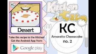 Amaretto Cheesecake No. 2 - Kitchen Cat