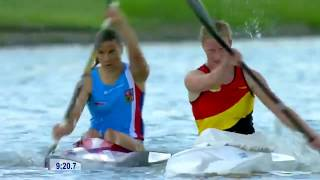 2017 ICF World Cup 2 in Szeged, Hungary, Mixed K-1 6X 500m Rely, Heat 4. HD