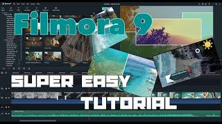 Tutorial # 7: How to use Filmora 9 (Super Easy Beginner's Guide)