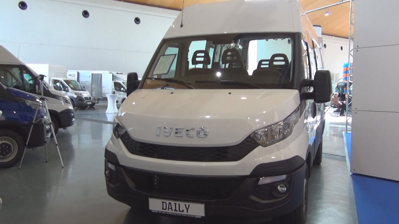 Iveco Daily 35 S 15 SV (2016) Exterior and Interior in 3D - YouTube