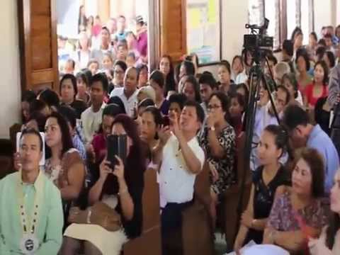 CESAR MONTANO TESTIMONY DURING HOPE BAYBAY 2014