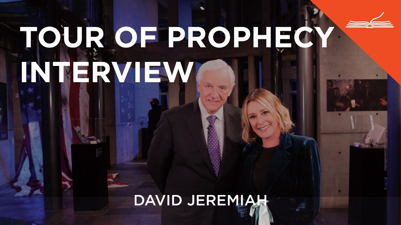 Tour Of Prophecy Interview With Dr David Jeremiah Sheila Walsh