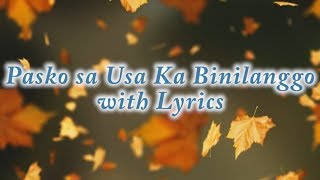 Pasko Sa Usa Ka Binilanggo With Lyrics [hd]