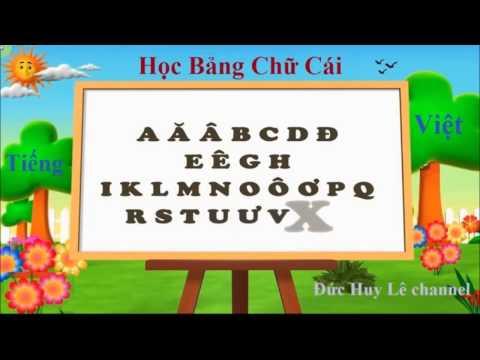 Vietnamese Alphabet Song