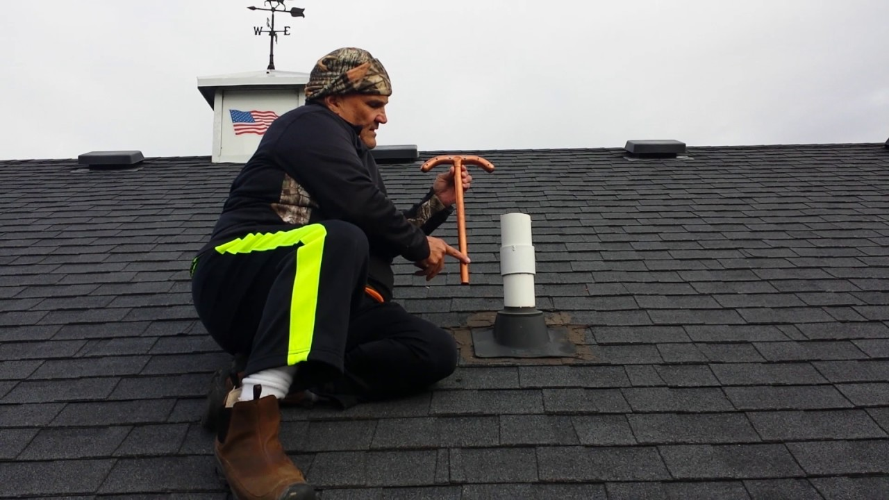 Sewer Vent Defroster Installation Youtube