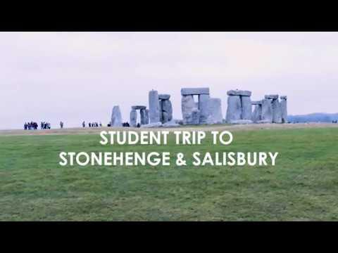 Student Trip to Stongehenge and Salisbury