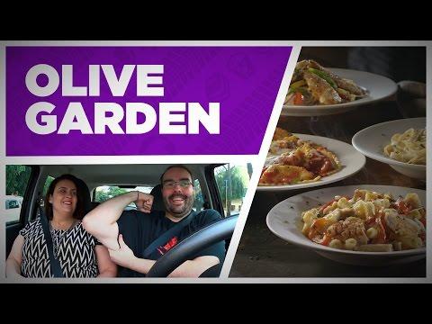 Um jantar italiano no Olive Garden em São Paulo