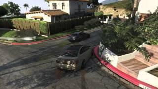 GTA V:DriftGTA-Tandem Series #4: Azer_one_ & ib3n1nja