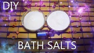 DIY Bath Salts Using DoTerra Peppermint Oil | Featuring Sabrina Stoven Thumbnail