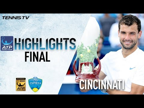 Highlights: Dimitrov Claims Maiden M1000 Title Cincinnati 2017