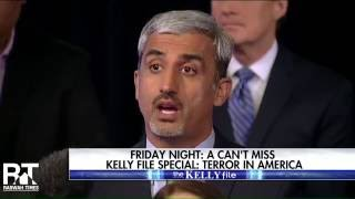 "Ahmadiyya Muslims on The Megyn Kelly file for a special on ""Terror in America"""
