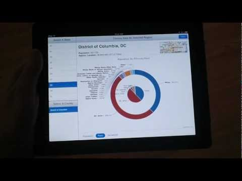 US Census Browser Mobile Application