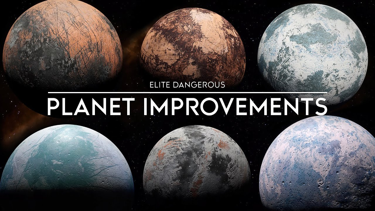 Elite Dangerous - Improved Planets, Multicrew Changes, Air Defence Turrets