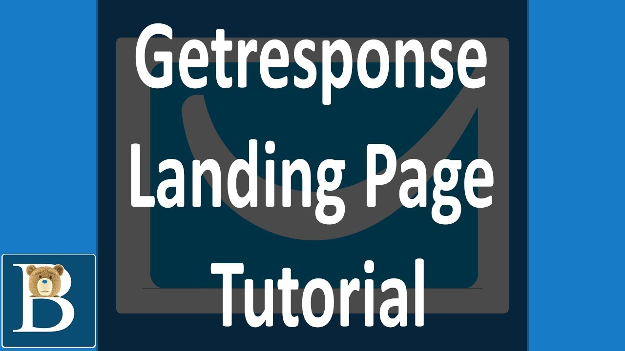 the best getresponse landing page tutorial youtube
