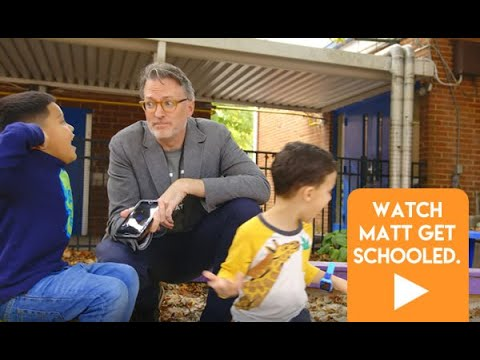 Charlotte Bilingual Preschool Students School Matt Olin