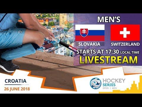 Slovakia V Switzerland   2018 Men's Hockey Series Open Zagreb   FULL MATCH LIVESTREAM