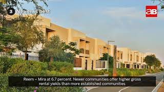 Top 5 places in the UAE for investors to find rental yields