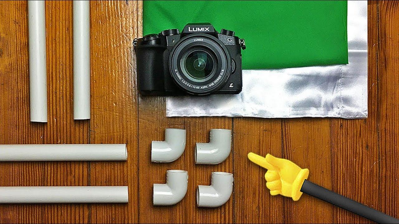 DIY Green Screen Frame made of PVC - Knoptop - YouTube