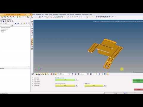 Hypermesh Tutorial HM-2020: Simplifying Geometry