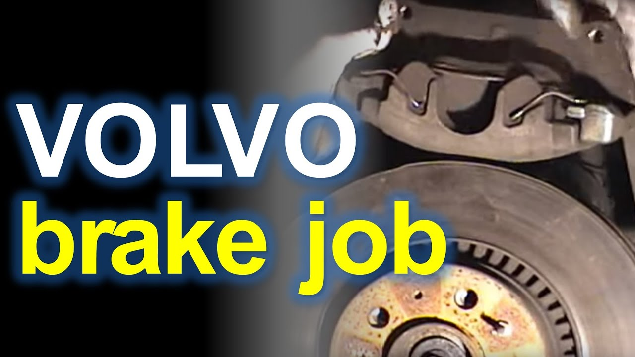 Volvo S60: Cleaning the brake discs