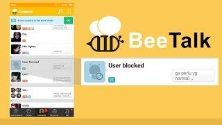 Video Cara Blok pengguna di BeeTalk yang mengganggu download MP3, 3GP, MP4, WEBM, AVI, FLV Juli 2018