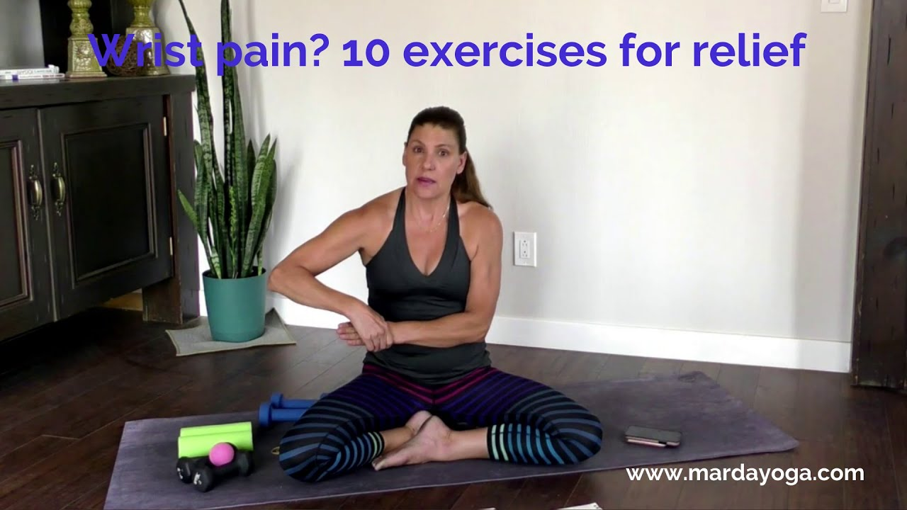 Wrist pain? Here are some exercises to help