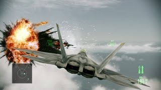 "Ace Combat: Assault Horizon Gameplay Part 1 (PC) Mission ""Nightmare"" - 1080p GeForce GT 650M"