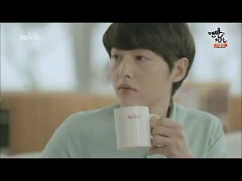 songjoongki Lee Na Young maxim coffee CF 15S