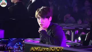 가요대전 정국 JungKook reaction  PENTAGON, ASTRO, KNK, SF9 ROOKIE COLLAB in SBS GAYO DAEJUN 2016