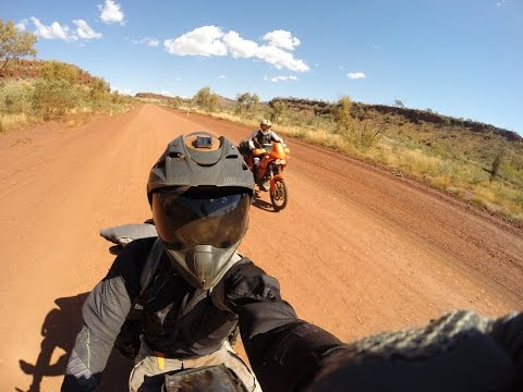 Perth to Darwin, 8500kms, one month, by motorcycle