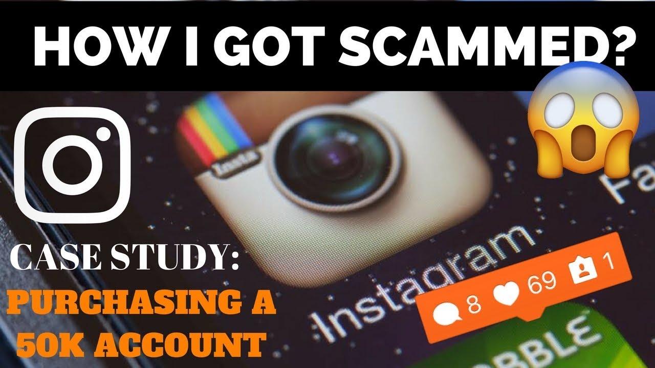 I GOT SCAMMED BUYING A 50K IG ACCOUNT OFF TELEGRAM    😑