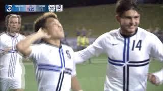 Creighton Men's Soccer vs. Butler Highlights 11-2-19
