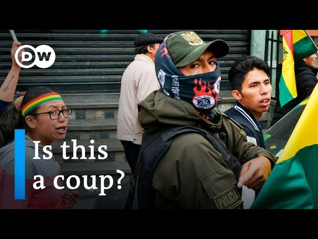 Police in Bolivia side with protesters against Morales | DW News